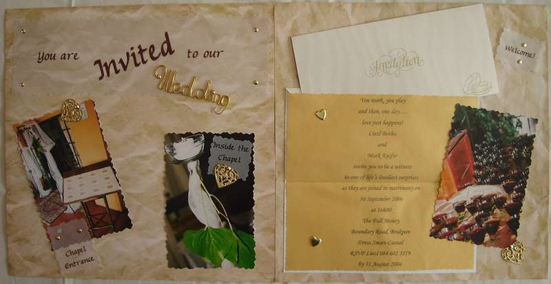 Invited (Mark & Liezl's Wedding 2006)