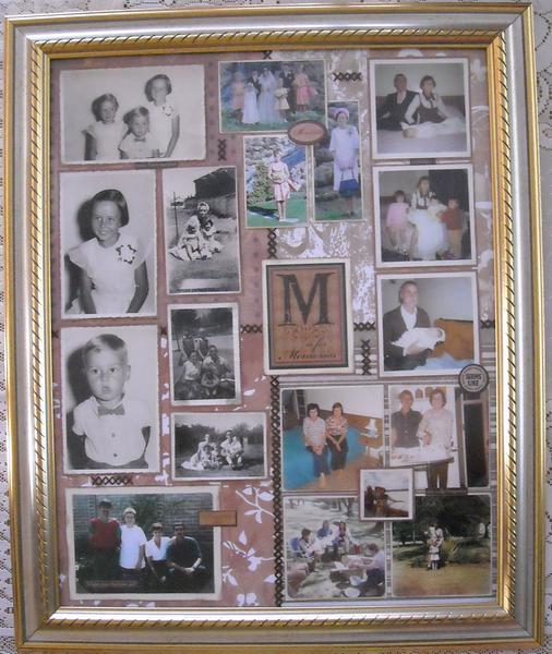 Memories - Framed (60th Birthday Gift for Mom)