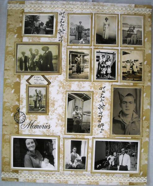 Vintage Memories (60th Birthday Gift for Mom)