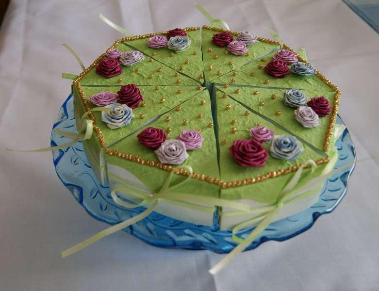 Cardstock Birthday Cake for Mom