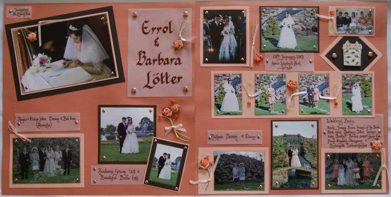 Errol & Barbara's Wedding Day - 1967