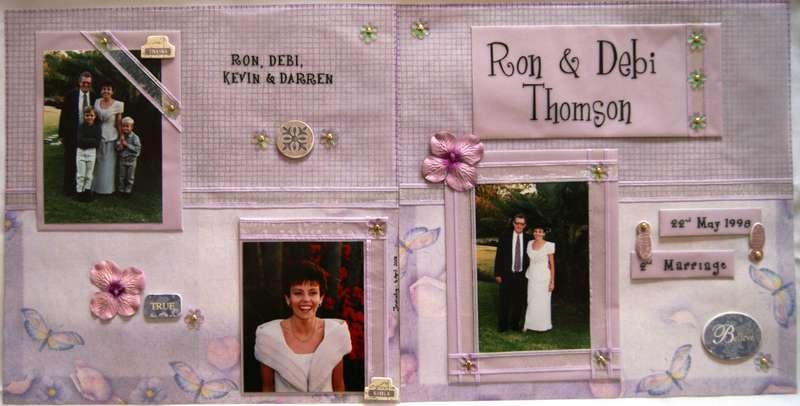 Ron & Debi's Wedding - 1998