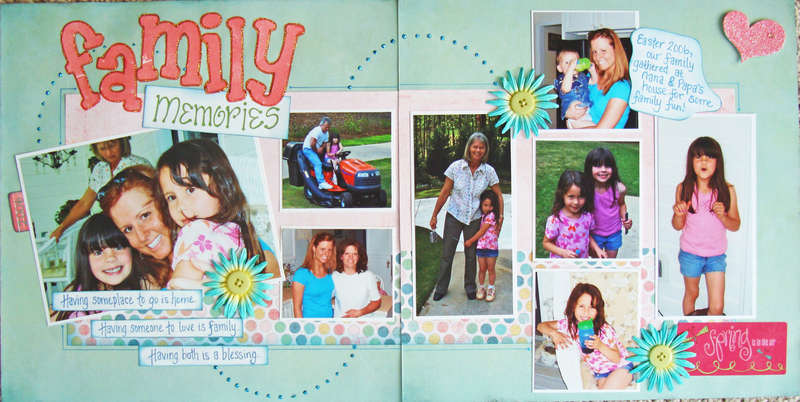 Family Memories - 2 Pager