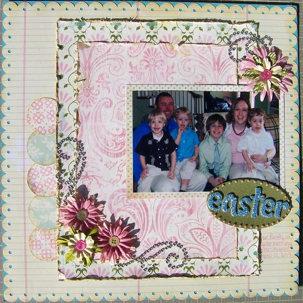 Easter 09 - Summer Blog Hop Challenge