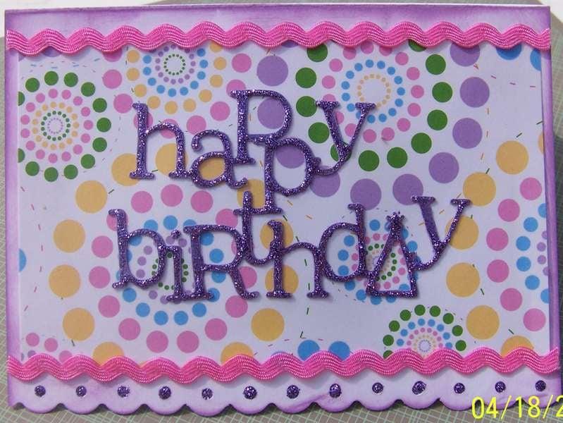 Ivy Birthday Card