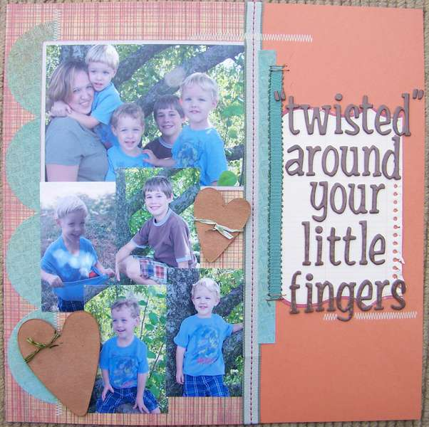 """""""twisted"""" around your little fingers"""