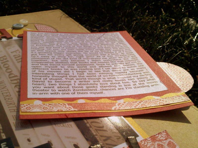 Hidden Journaling Close Up