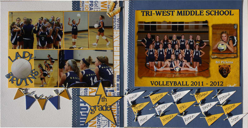 Lady Bruins Volleyball