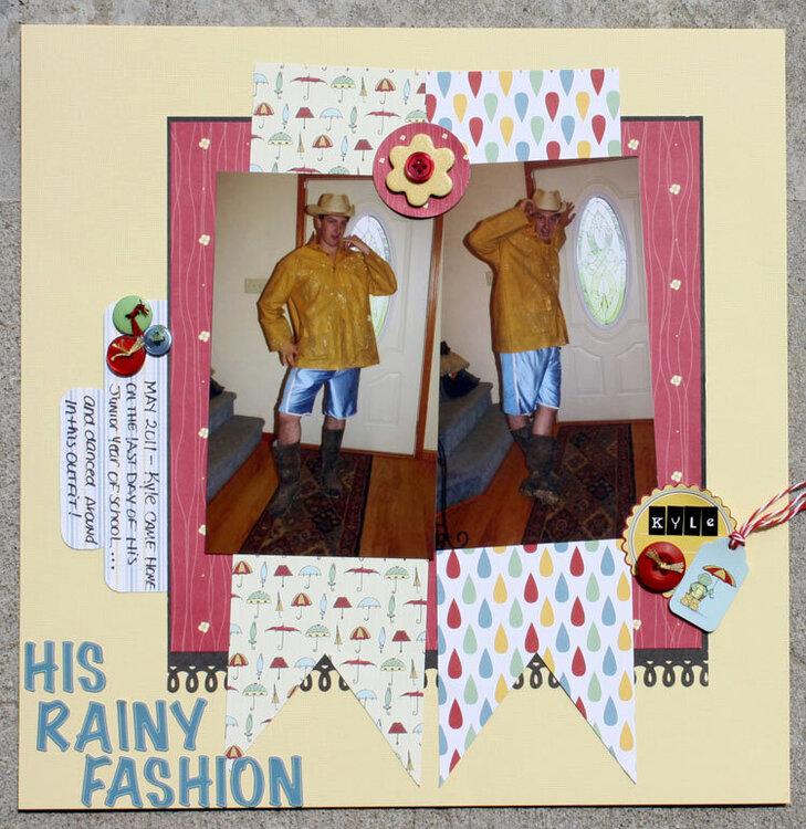 His Rainy Fashion