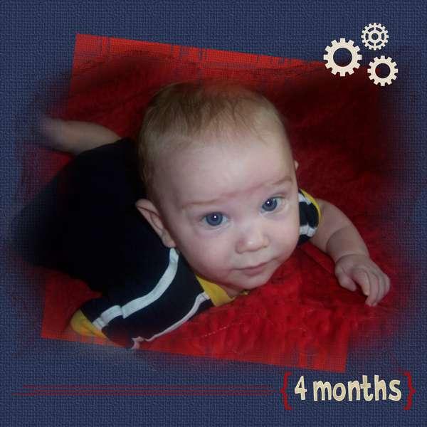 Ryan 4 Months