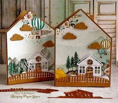 Little House Shaped Cards