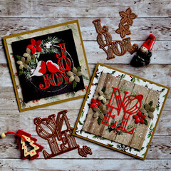 Christmas cards - Scandi style