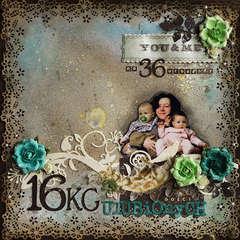 16 kilograms