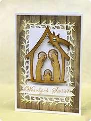 Christmas Card - Manger Scene