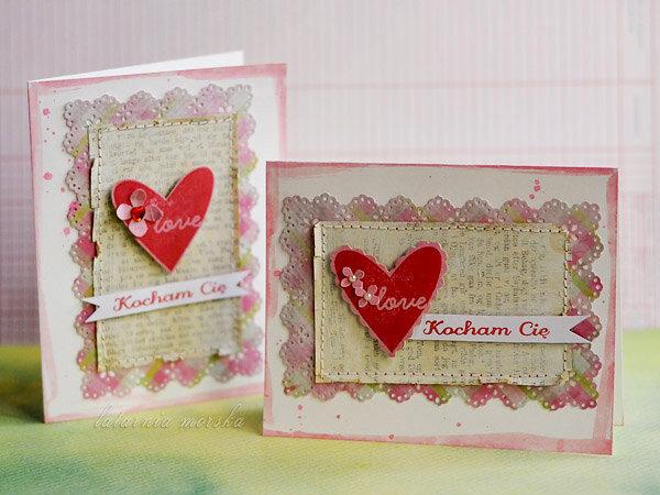 "Valentine Cards ""I love you"""