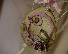 a bird egg  decor