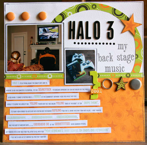 Halo 3 *October Scrapstreet.com*