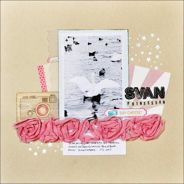 swan princess *Cocoa Daisy March kit*
