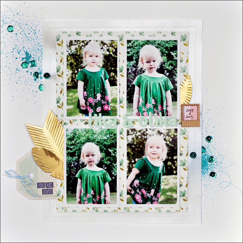 alike and different *Cocoa Daisy Nov kit*