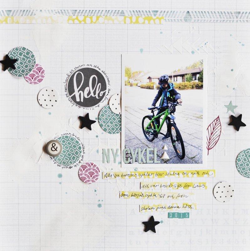 new bike *Cocoa Daisy Nov kit*