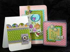 Spring Cards by Designer:  Angie Hagist