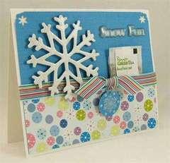 Snow Fun Card by Designer: Lisa Falduto