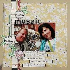 Mosaic by Dina Wakley