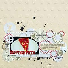 Deep Dish Pizza by Jill Sprott from Jenni Bowlin Studio