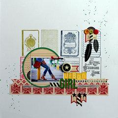 Urban Girl by Karine Casenave-Tapie for Jenni Bowlin Studio