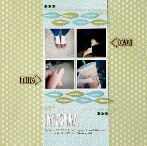 Love This Now by Leah Farquharson for Jenni Bowlin Studio