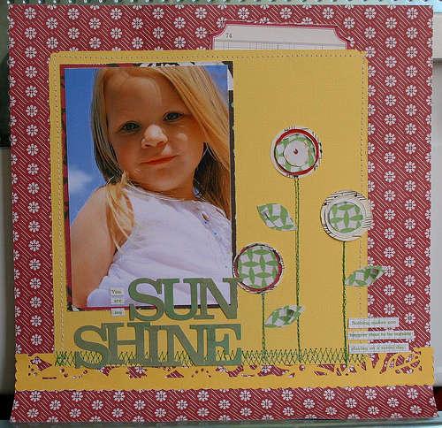 Sun Shine by JBS Design Team Member:  Michelle McCord