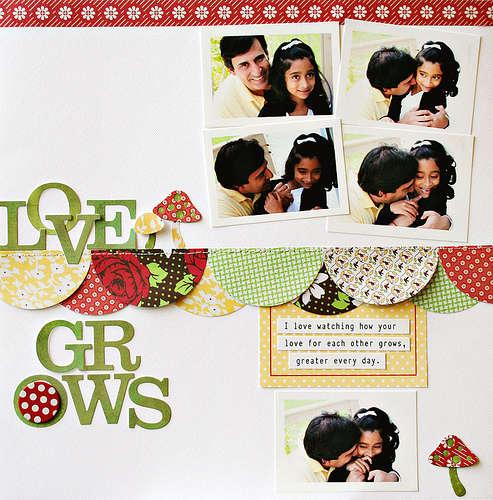 Love Grows by JBS Design Team Member:  Ranjani Molhotra