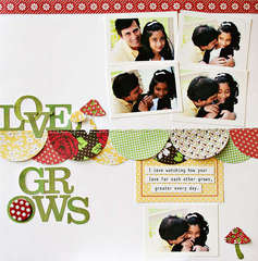 Love Grows by JBS Design Team Member:  Ranjani Molhotra