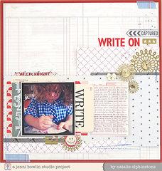 Write On by Natalie Elphinstone for JBS Mercantile
