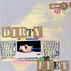 Dirty Feet by Corrie Jones for Jenni Bowlin Studio