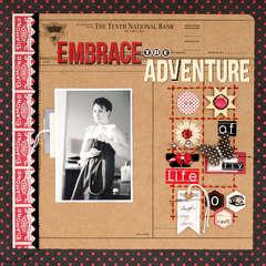 Embrace the Adventure by Leah Farquharson