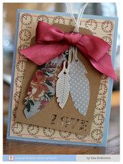 Love Card by Lisa Dickinson for Jenni Bowlin Studio