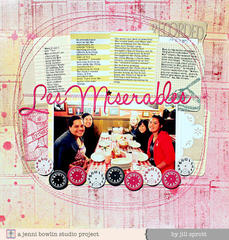 Les Miserables by Jill Sprott for Jenni Bowlin Studio