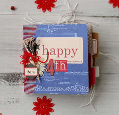 Happy 4th Mini Album by Leah Farquharson for Jenni Bowlin Studio