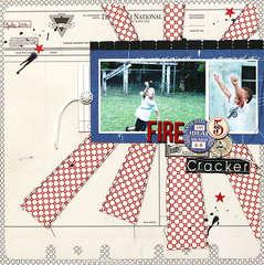 FireCracker by Leah Farquharson for Jenni Bowlin Studio