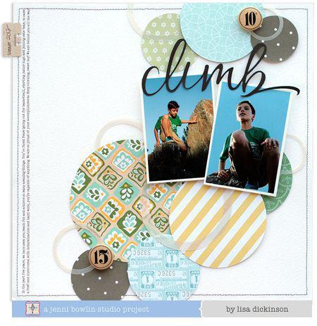 Climb by Lisa Dickinson for Jenni Bowlin Studio