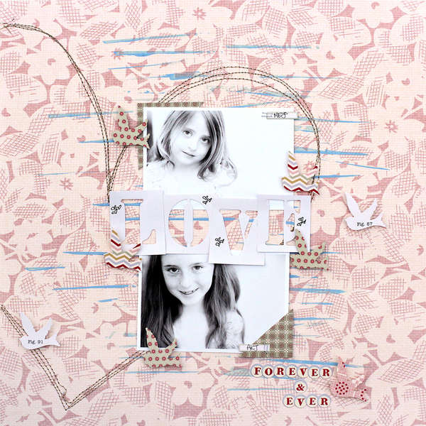 Love Forever and Ever by Corrie Jones for Jenni Bowlin Studio
