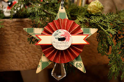 Star Ornament by Mindy Miller