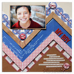 My Boy by Lisa Dickinson for Jenni Bowlin Studio