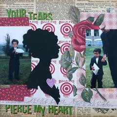 Pierce My Heart by Doris Sander for Jenni Bowlin Studio