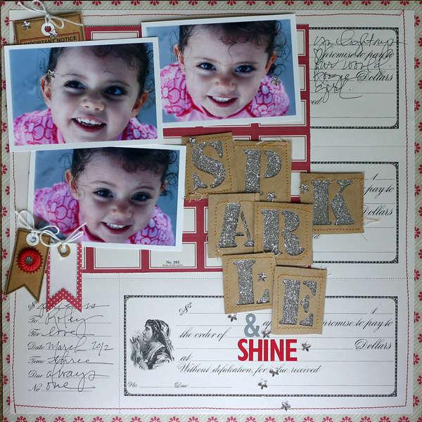 Sparkle & Shine by Doris Sander