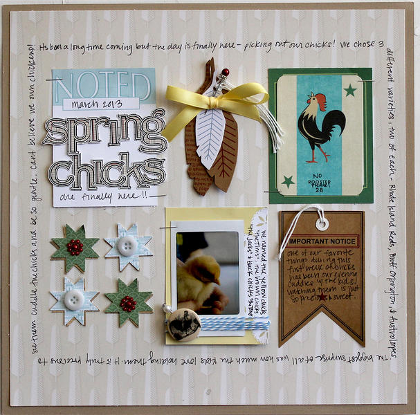 Spring Chicks by Jenni Hufford for Jenni Bowlin Studio