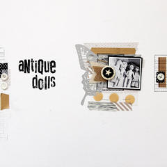 Antique Dolls by Tina Walker for Jenni Bowlin Studio
