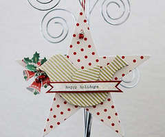 Bird and Star Ornament by Waleska
