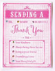 Sending a Thank You